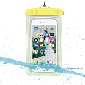 New 3.5 -6 inch Universal Waterproof Case Phone Dry Bag Swimming Underwater Mobile Phone Holder Cover for Outdoor Activities