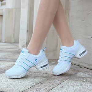 Hot Sale 2020 EU35-42 Sports Feature Soft Outsole Breath Dance Shoes Sneakers For Woman Practice Shoes Modern Dance Jazz Shoes
