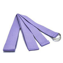 Charger l'image dans la galerie, Yoga Women Stretch Strap D-Ring Belt Fitness New Multi-Colors Exercise Gym Rope Figure Waist Leg Resistance Fitness Bands Cotton