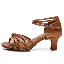 Charger l'image dans la galerie, Hot Selling Women's Tango/Ballroom/Latin Dance Dancing Shoes Heeled Salsa Professional Dancing Shoes For  Girls Ladies 5cm/7cm