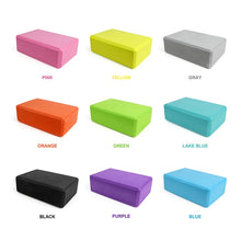 Charger l'image dans la galerie, Yoga Block Props Foam Brick Stretching Aid Gym Pilates Yoga Block Exercise Fitness Sport