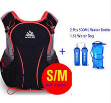 Charger l'image dans la galerie, AONIJIE 5L Women Men Bag Marathon Hydration Vest Pack for 1.5L Water Bag Cycling Hiking Bag Outdoor Sport Running Backpack
