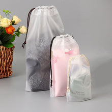 Charger l'image dans la galerie, 1pc Drawstring Swimming Bags Transparent Clothes Bag Sports Travel Storage Bags 3 Styles