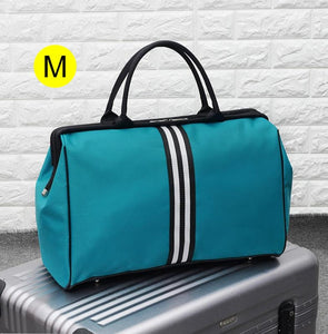 bolsa Striped Travel Bag Gym Fitness Bags Luggage Traveling Duffle Sac De Sport Handbag For Women Men Outdoor Sports Tas XA46A