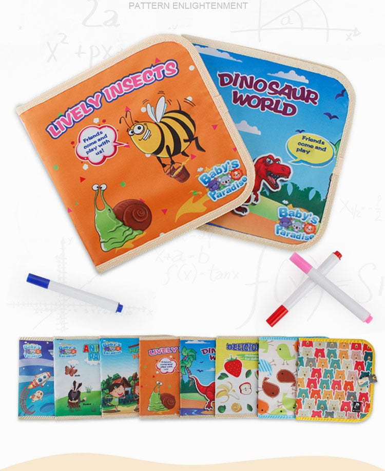 Magic Washable Drawing Book - DavaoShop International Gift Service - Send Gifts to your loved ones in the US, Canada, Australia and UK