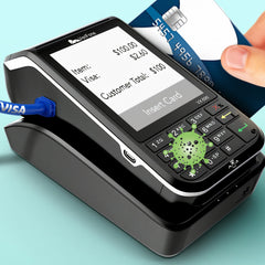 Greek-Key from Betty's Promos Plus Prevents Contact with Germs on Point of Sale Terminals