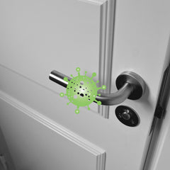Greek-Key from Betty's Promos Plus Prevents Contact with Germs on Door Handles