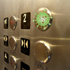 Greek=Key from Betty's Promos Plus Prevents Contact with Germs on Elevator Buttons