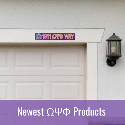Newest Omega Psi Phi ΩΨΦ Products