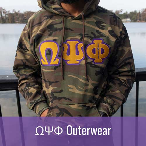 Omega Psi Phi ΩΨΦ Outerwear