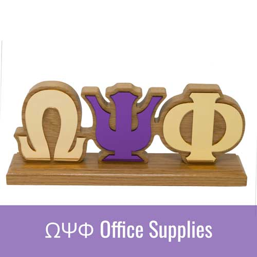 Omega Psi Phi ΩΨΦ Office Supplies
