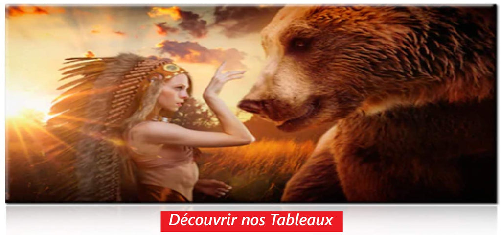 Tableaux ours adopte un ours