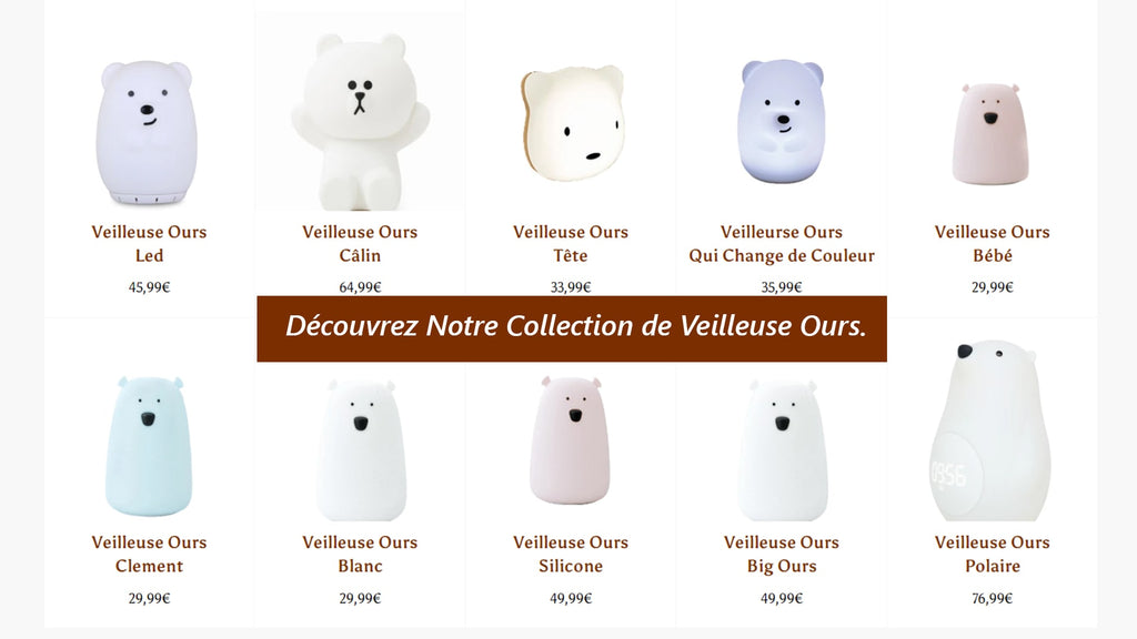 veilleuse ours