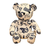 Peluche ours<br> Motif pingouin