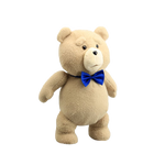 Peluche ted noeud papillons