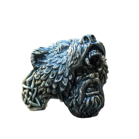 bague ours homme