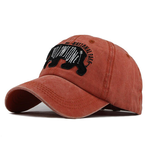 Casquette Ours<br> Yellowstone Orange