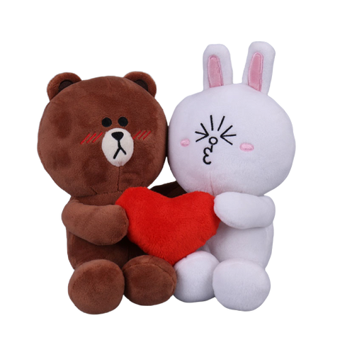 Peluche ours<br>Lapin-ours