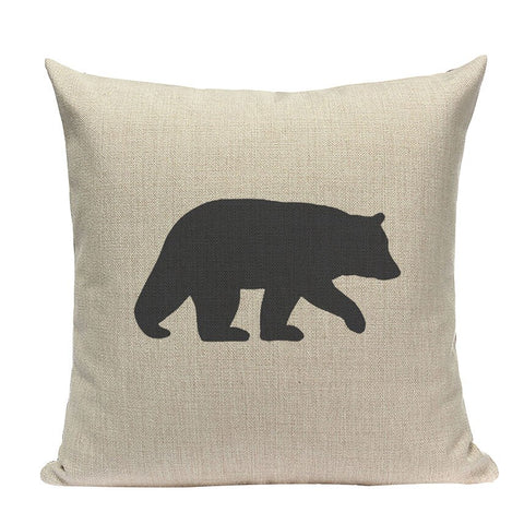 coussin avec ours
