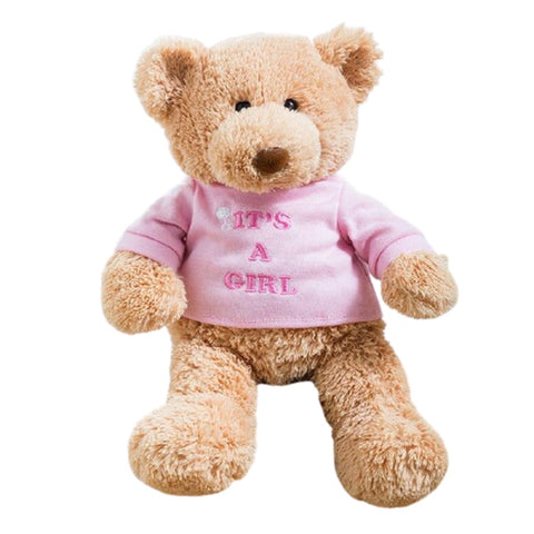 doudou ours fille