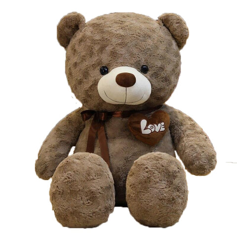 nounours marron - tendre calin