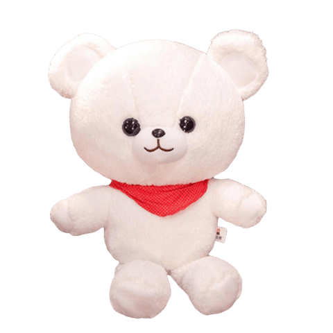 Peluche Ours Geant Blanc