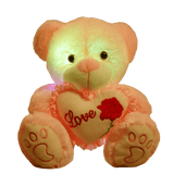 Peluche Ours Veilleuse - Coeur