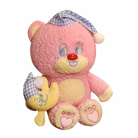 Peluche Ours Rose