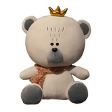 Peluche Ours<br> Gris