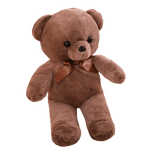 Peluche ours<br>34 cm Marron - ours