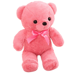 Peluche ours<br>34 cm Rose - ours