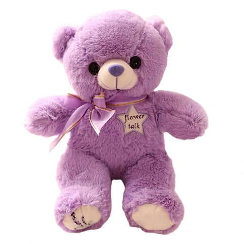 Peluche ours Violet