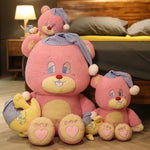 Peluche Ours<br> Rose