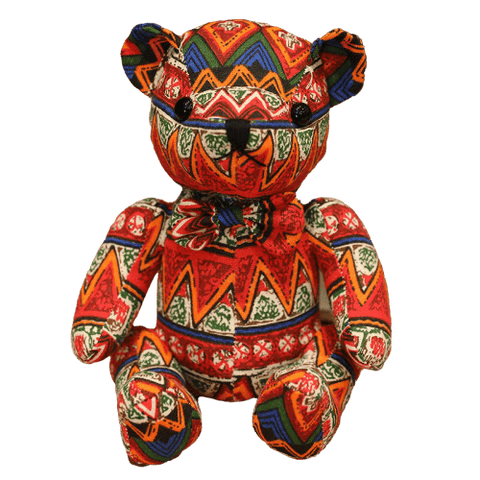 Peluche Ours<br> Motif Mexicain