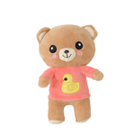 Peluche Rilakkuma <br> Pull rose - ours