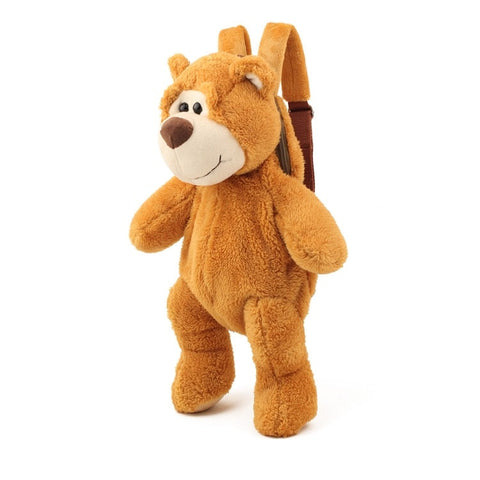 sac a dos ours peluche<br>caramel