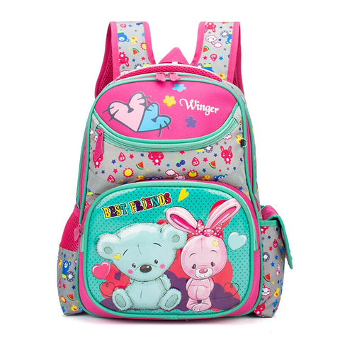 sac a dos maternelle ours <br> rose