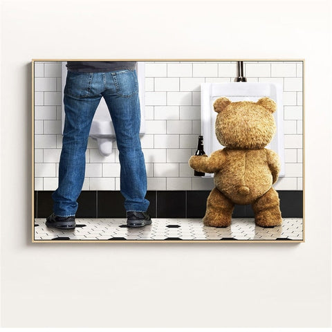 tableau ours teddy