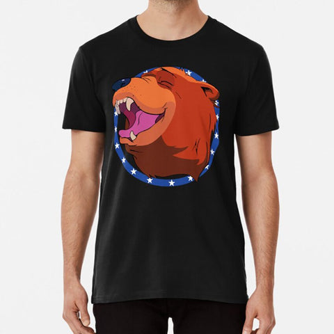 t-shirt tete d'ours