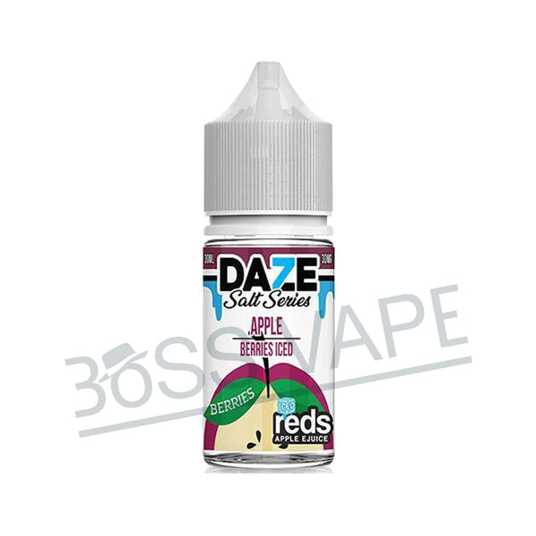 7DAZE – Nic Salt Iced Apple Berries 30ml - Boss Vape