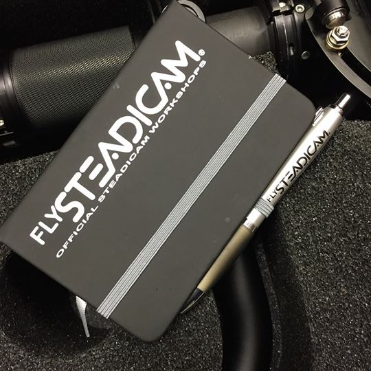 Flysteadicam Official Notebook & Pen