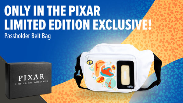 Get the exclusive Passholder Belt Bag in this crate!
