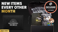 A bimonthly subscription box of exclusive Wizarding World collectibles and more