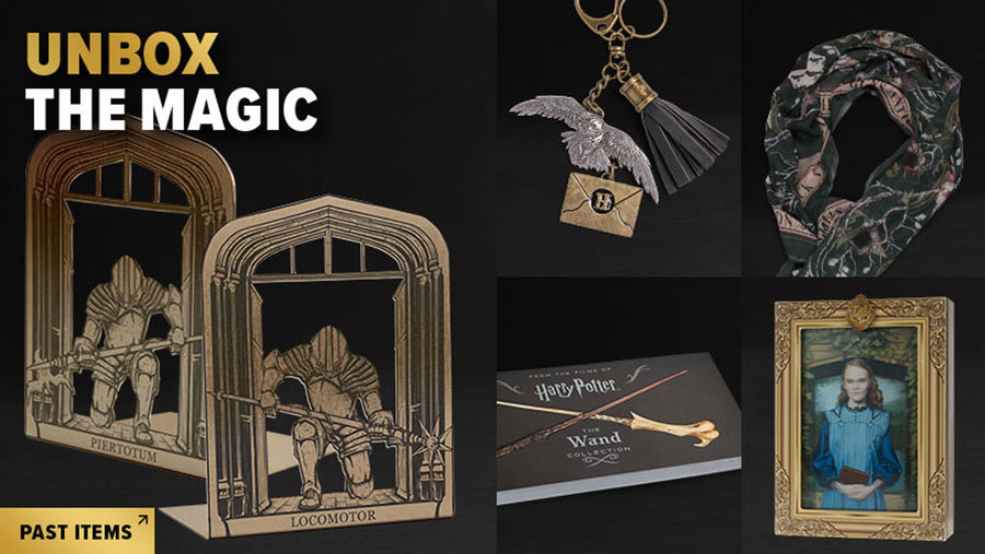 Get unique and officially licensed Harry Potter and Fantastic Beasts items