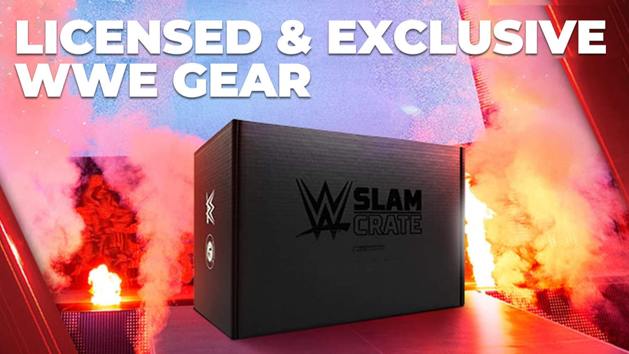 A bimonthly subscription box of exclusive WWE collectibles, gear and more!