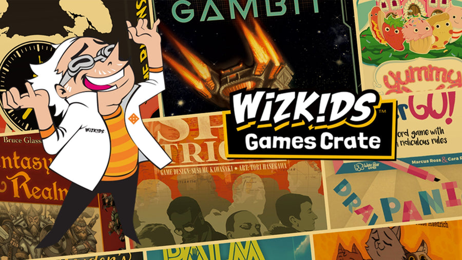 Get 3 mystery WizKids tabletop games delivered to your door every other month!