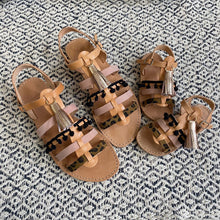 Load image into Gallery viewer, Leather handmade sandal for mother and daughter