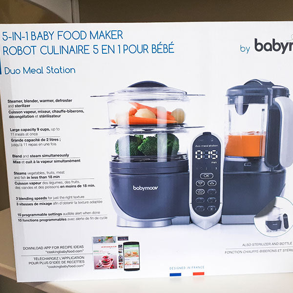 Duo Meal Station 5 in 1 Baby Food Maker