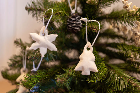 Salt dough ornaments for Christmas. Blog by itto, a Sydney Australia-based business selling eco-friendly, biodegradable phone cases (Shells). The Shells are home and commercially compostable.