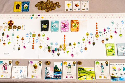 Tokaido - Two player games - Sustainable Valentine's Day - itMatters, Blog by itto, a Sydney, Australia-based brand selling eco-friendly phone cases that are commercially and home compostable.